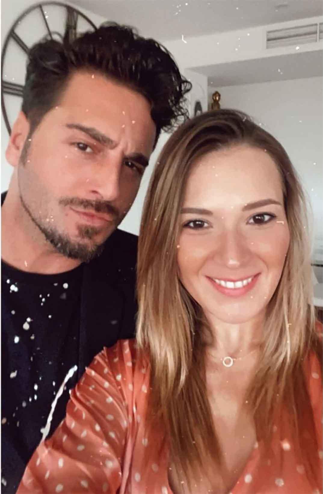 David Bustamante y Yana Olina © Instagram