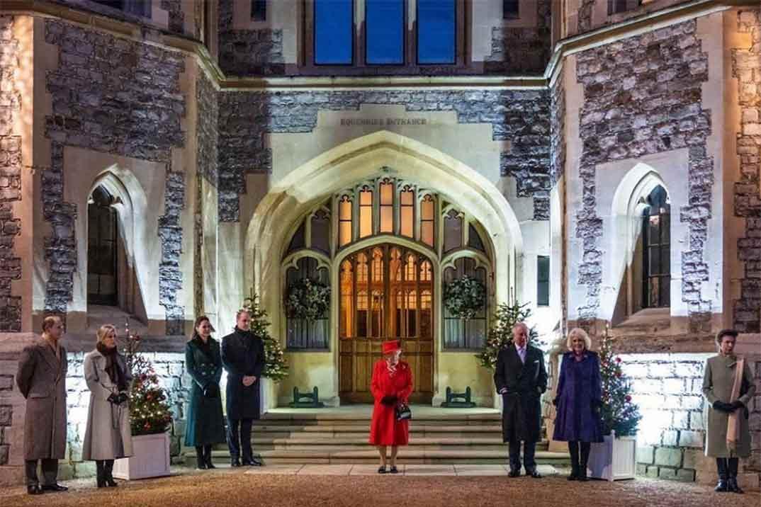 El esperado reencuentro de Guillermo y Kate con la reina tras meses de aislamiento