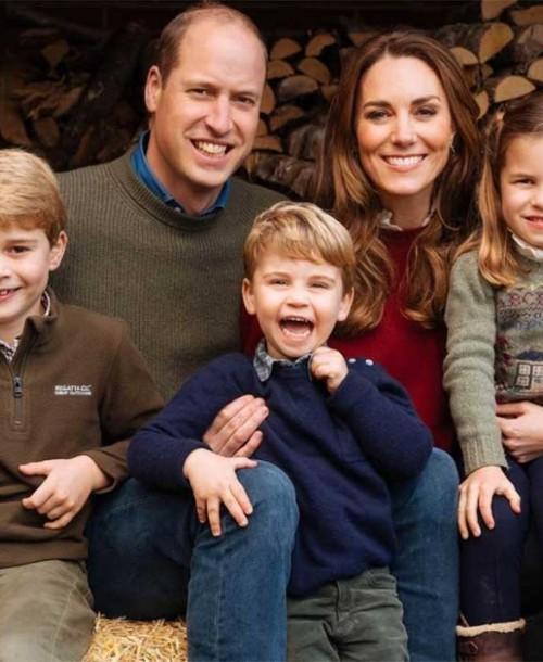 La simpática y entrañable felicitación navideña de los duques de Cambridge y sus hijos