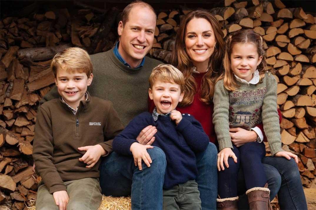 Kate Middleton felicita al príncipe Guillermo con una foto inédita en el día del Padre