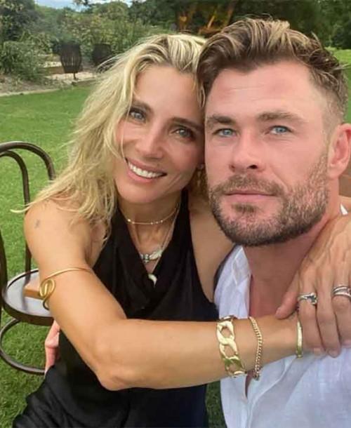 Elsa Pataky y Chris Hemsworth enamoran con su estilo