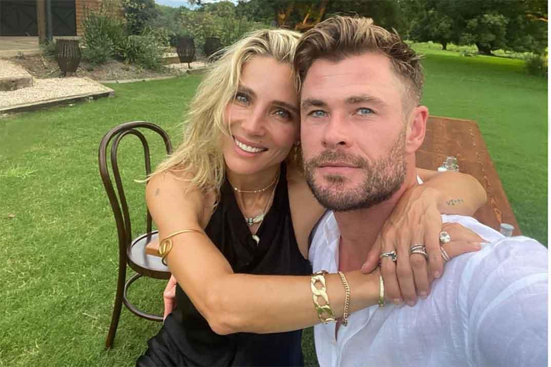 Elsa Pataky y Chris Hemsworth… ¿Cuál es el secreto del éxito de su matrimonio?