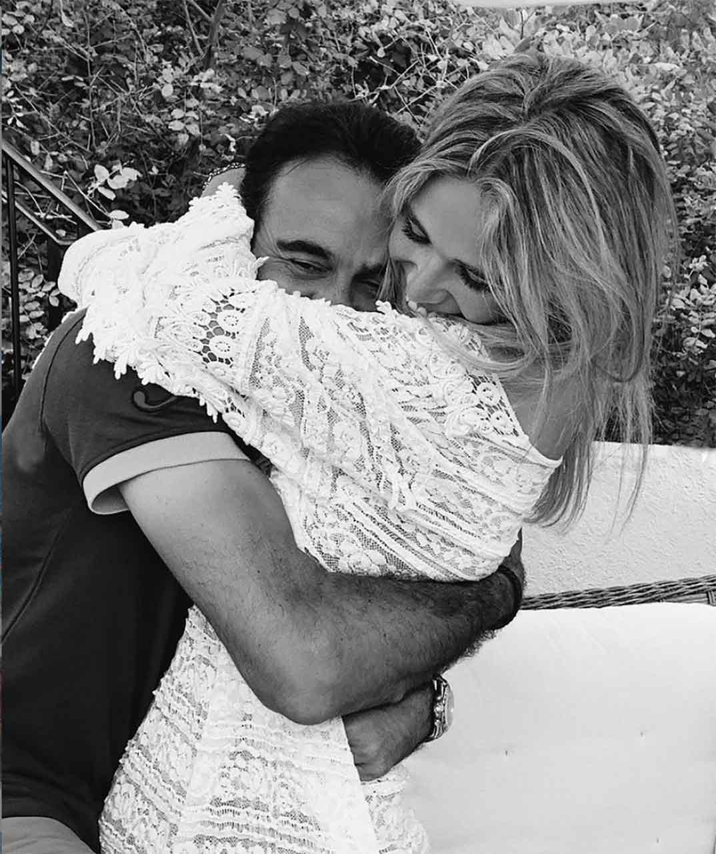 Enrique Ponce y Ana Soria © Instagram