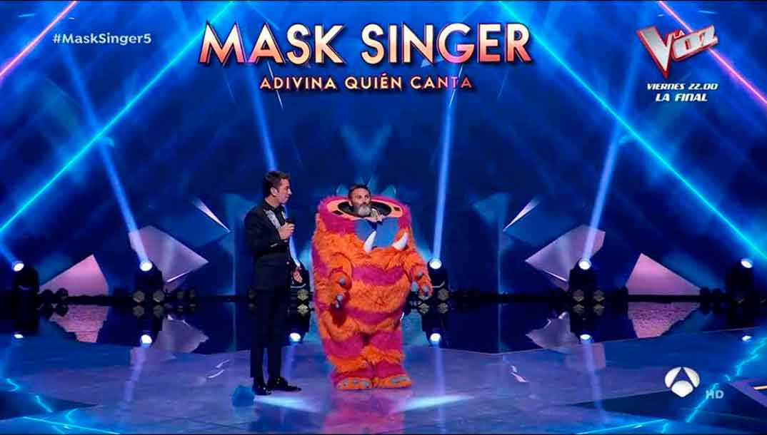 Fernando Tejero - Mask Singer © Antena 3