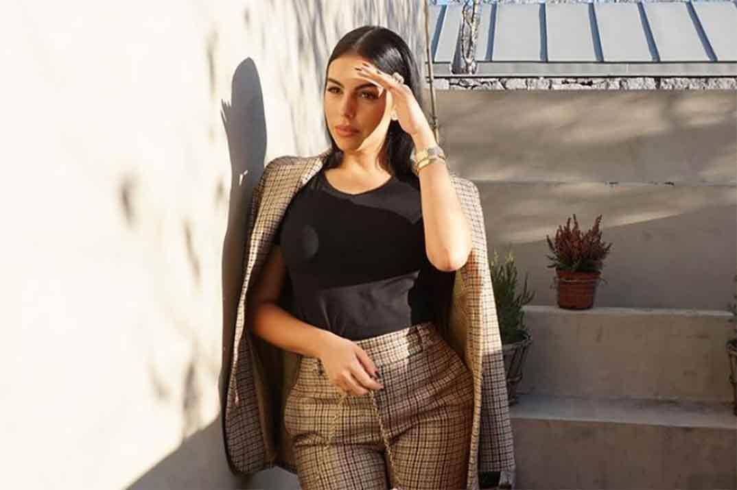 El sensual estilo working girl de Georgina Rodríguez