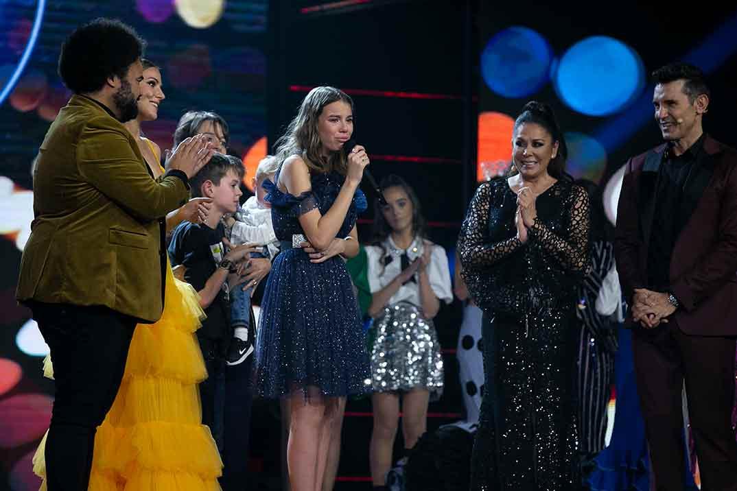 Índigo Salvador - Idol Kids © Telecinco