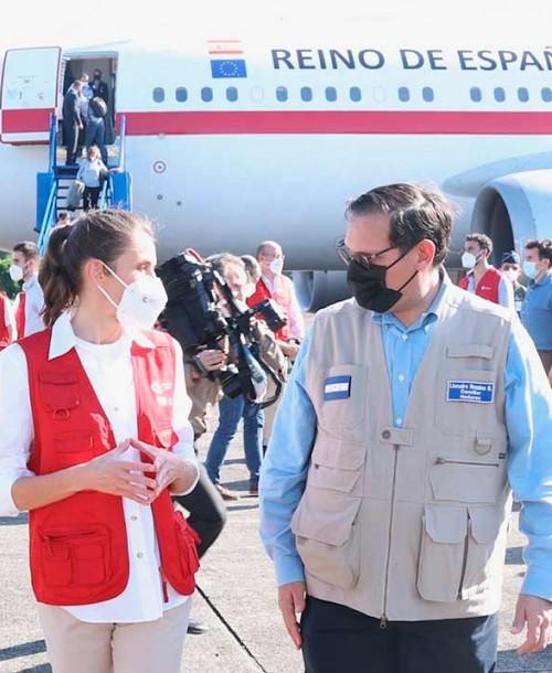 La reina Letizia comienza su viaje humanitario a Honduras