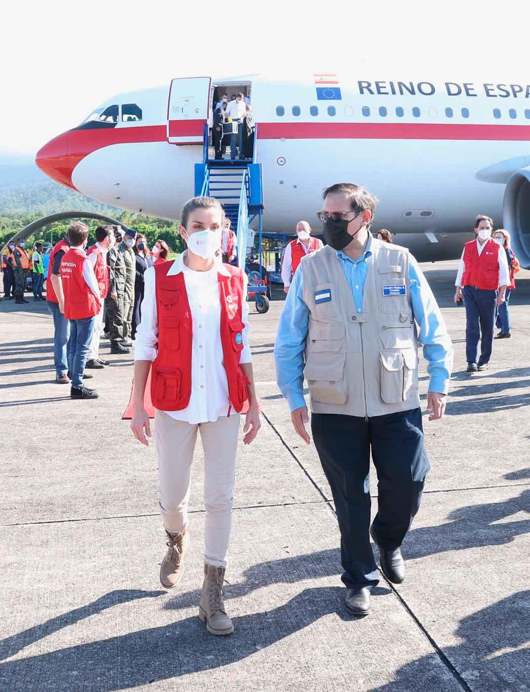Reina Letizia - Viaje humanitario Honduras © Casa S.M. El Rey
