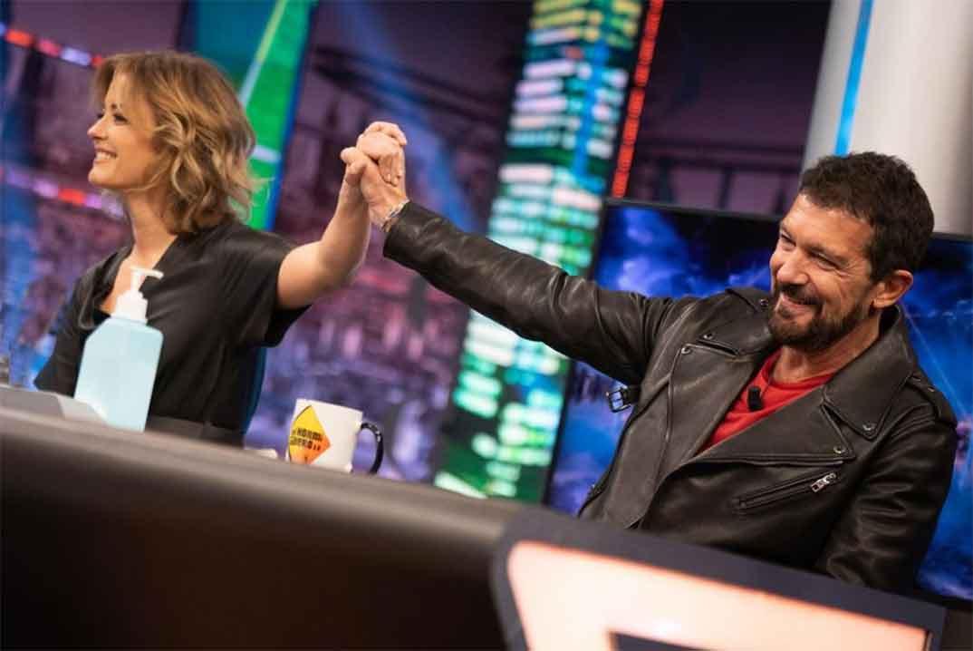 Antonio Banderas y María Casado - El Hormiguero © Antena 3