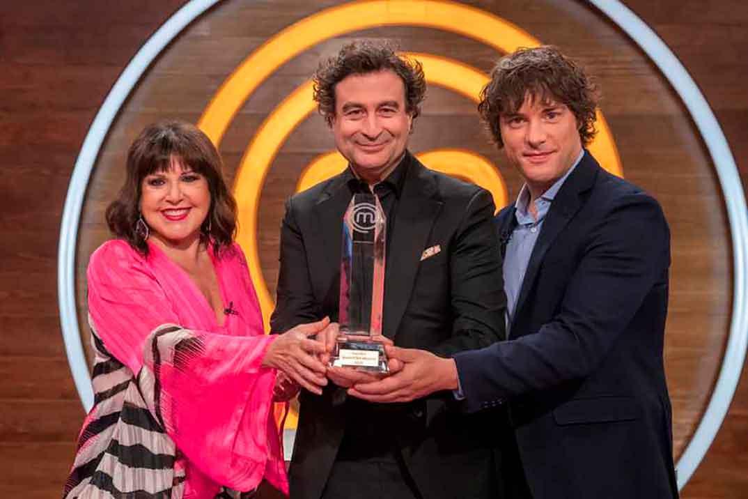 Loles León, Pepe Rodríguez y Jordi Cruz - MasterChef Abuelos © RTVE