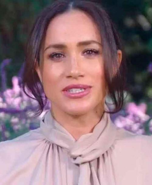 El look de Meghan Markle para su reaparición en televisión