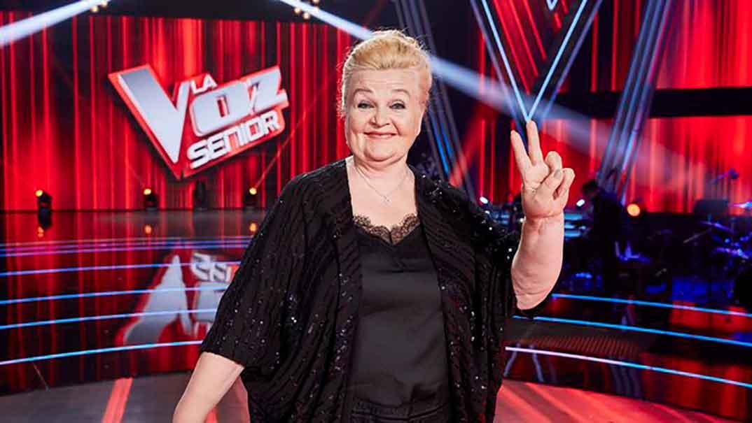 Naida Abanovich - La Voz Senior © Antena 3