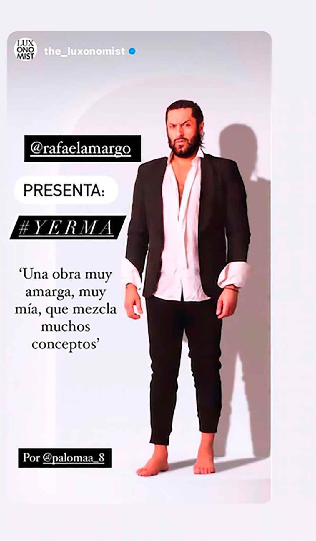 Rafael Amargo © Instagram