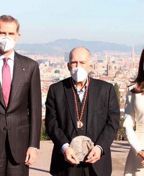 Los Reyes entregan el Premio Cervantes a Joan Margarit