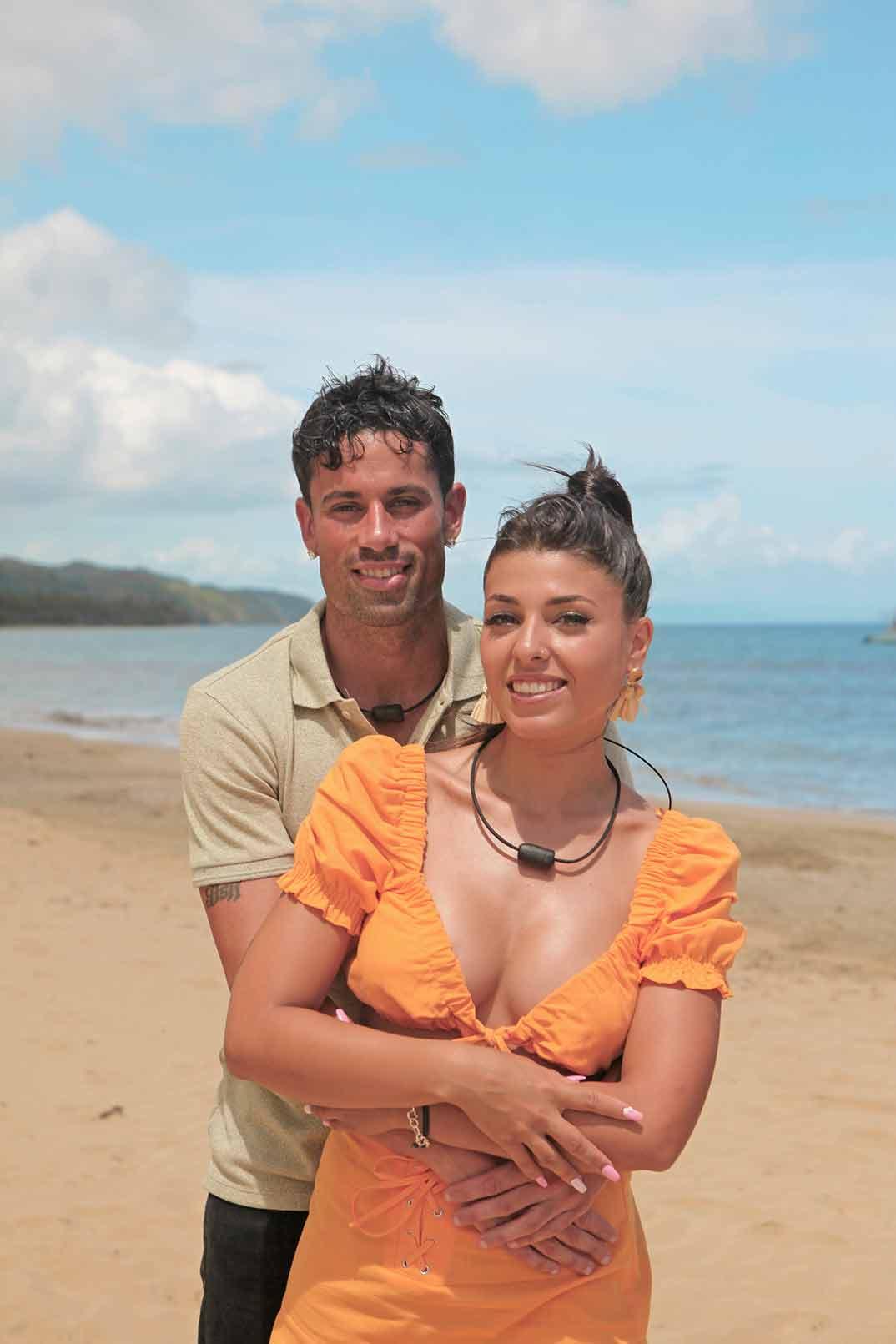 Diego y Lola - La isla de las tentaciones © Mediaset