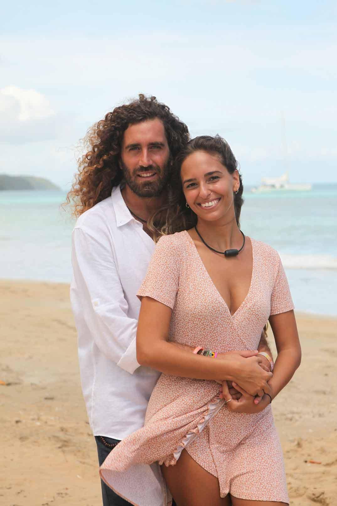 Claudia y Raúl - La isla de las tentaciones © Mediaset