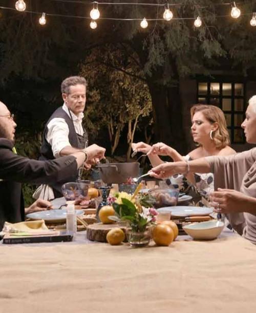 Jorge Sanz sorprenderá a sus invitados en 'Ven a cenar conmigo. Gourmet Edition'