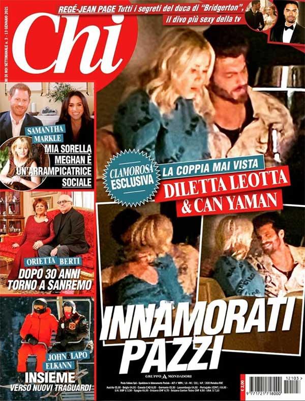 Can Yaman y Diletta Leotta - Revista Chi