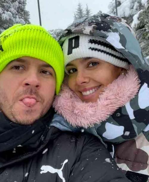 Cristina Pedroche, Eva González, Sergio Ramos, Paula Echevarría… Los famosos disfrutan de una nevada histórica