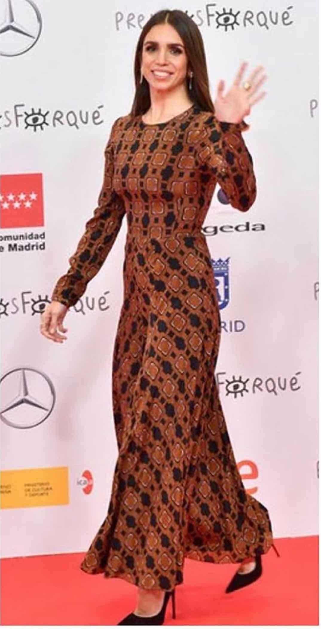 Elena Furiase - Premios Forqué © Redes Sociales