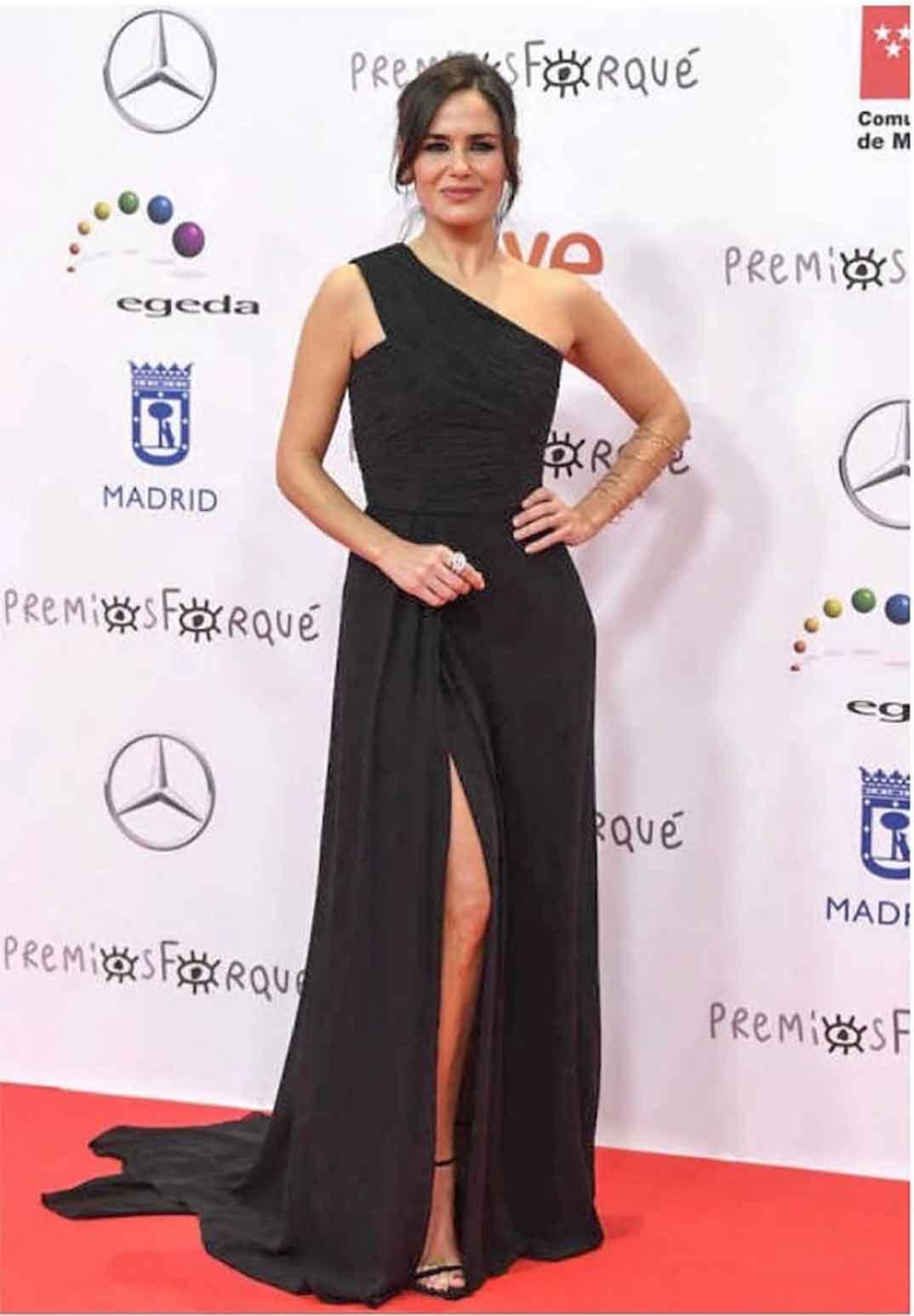 Elena Sánchez - Premios Forqué © Redes Sociales