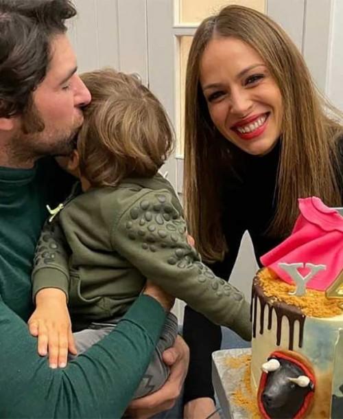 La bonita imagen familiar de Cayetano Rivera en su 44 cumpleaños