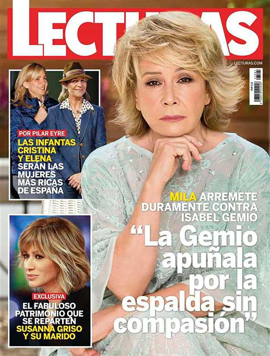 Infanta Elena y Cristina - Revista Lecturas