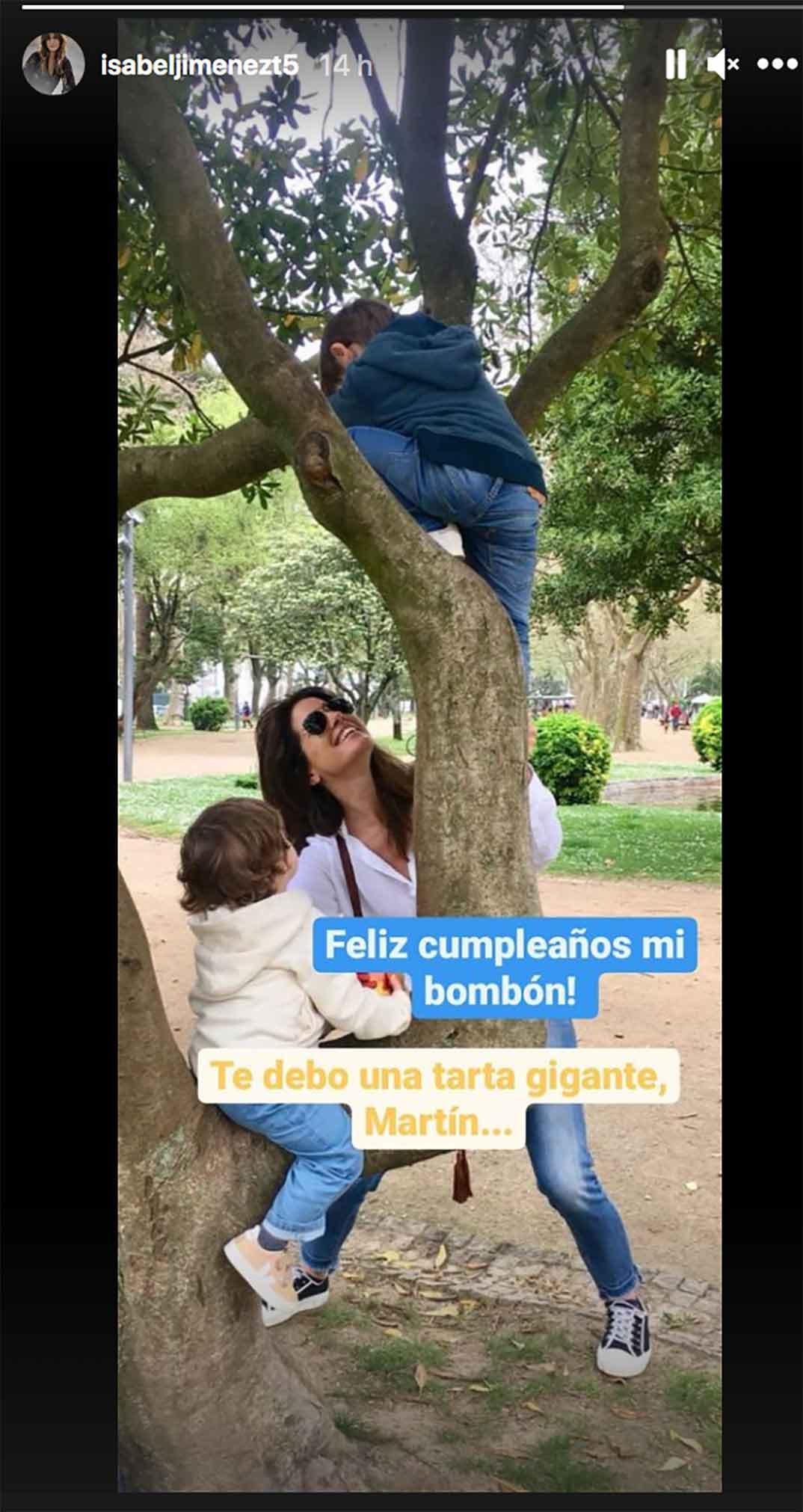 Isabel Jiménez © Instagram