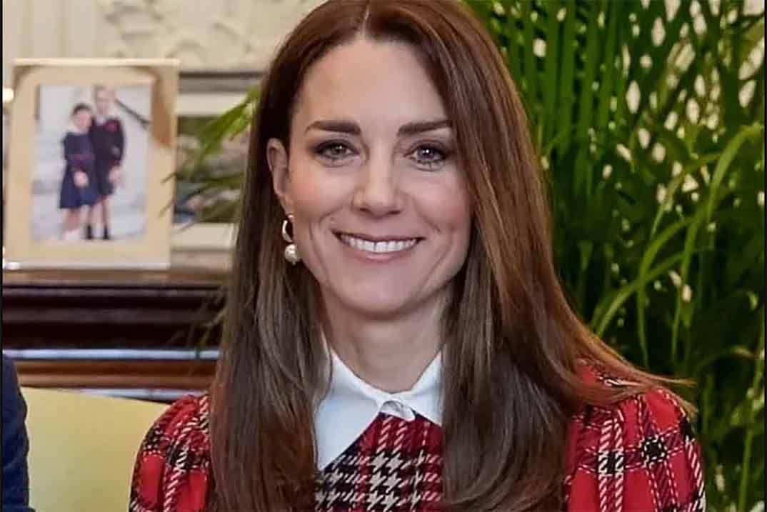 Kate Middleton recupera su vestido de tartán favorito