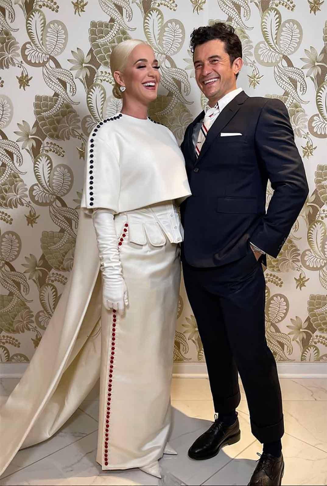 Katy Perry y Orlando Bloom © Instagram