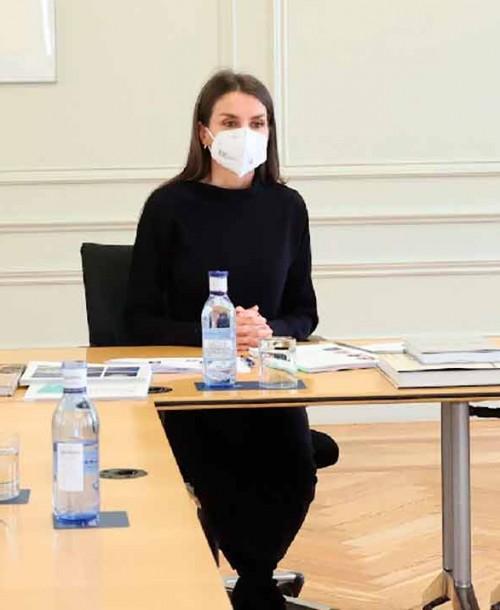 La reina Letizia retoma su agenda