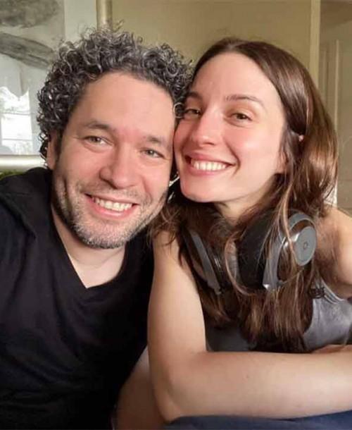 La romántica felicitación de María Valverde a su marido Gustavo Dudamel, en su 40 cumpleaños