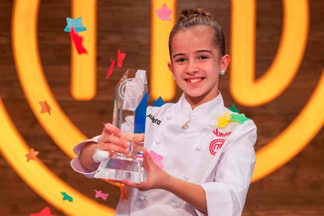 Aurora se convierte en la ganadora de 'MasterChef Junior 8'