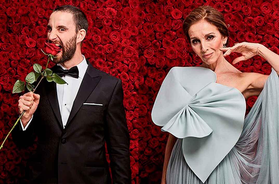 Dani Rovira y Ana Belén © Cortesía de la Academia de Cine