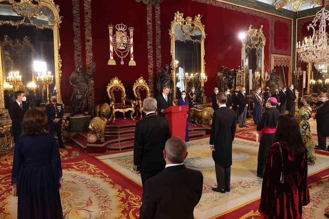 Reyes Felipe y Letizia - Recepción anual al Cuerpo Diplomático © Casa S.M. El Rey