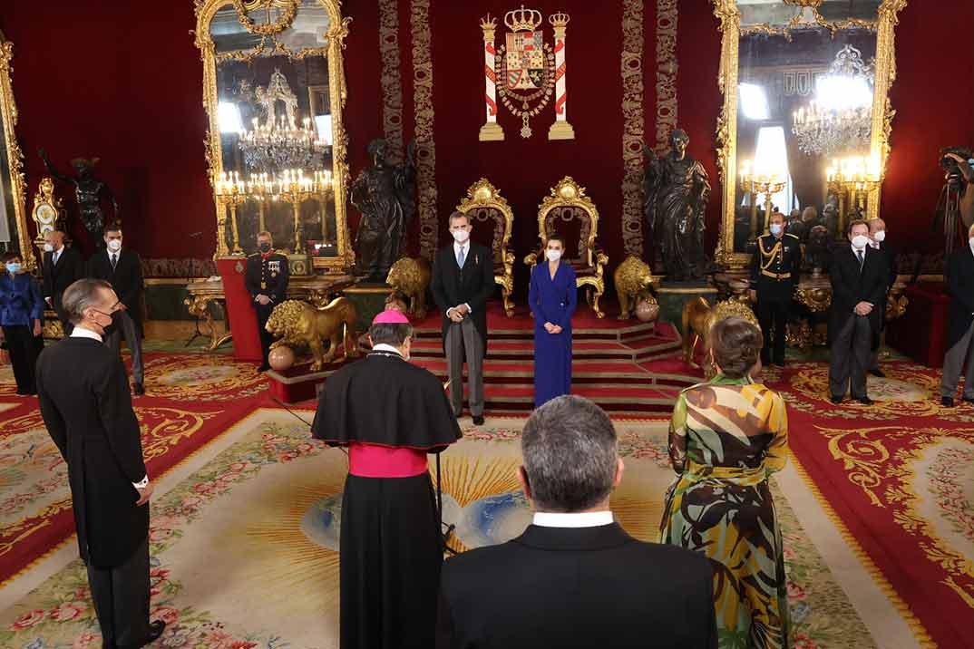 Los Reyes celebran la tradicional recepción al Cuerpo Diplomático