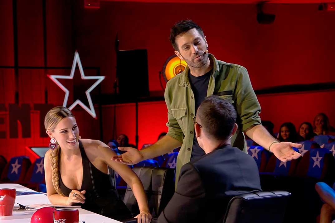 Santi Millán otorga uno de los Pases de Oro más inesperados de 'Got Talent España'