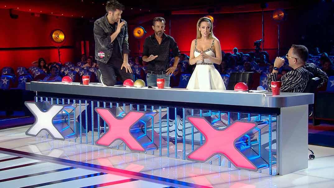 Edurne, Risto Mejide, Dani Martín - Got Talent España © Telecinco