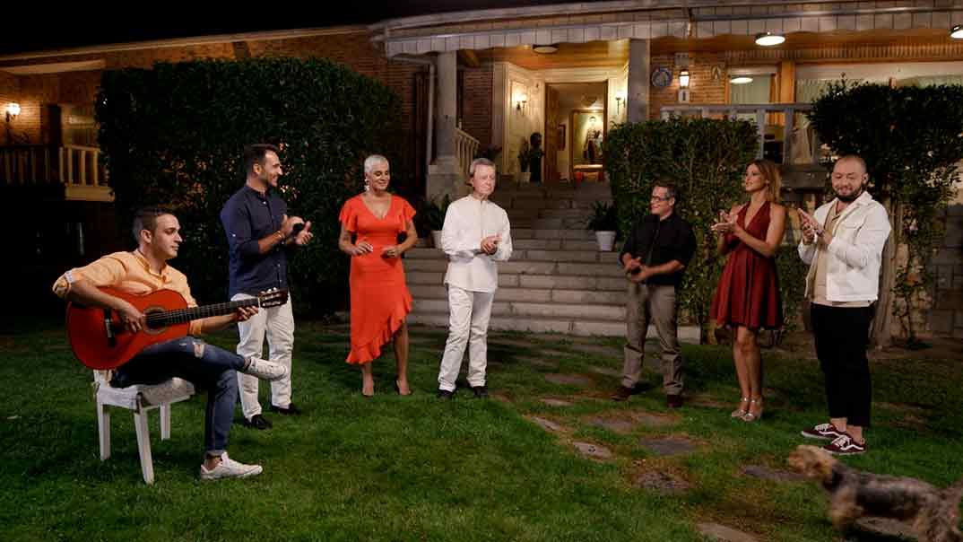 Jose Antonio Avilés, Ana María Aldón, José Ortega Cano, María Jesús Ruíz, Jorge Sanz - Ven a cenar conmigo. Gourmet Edition © Telecinco