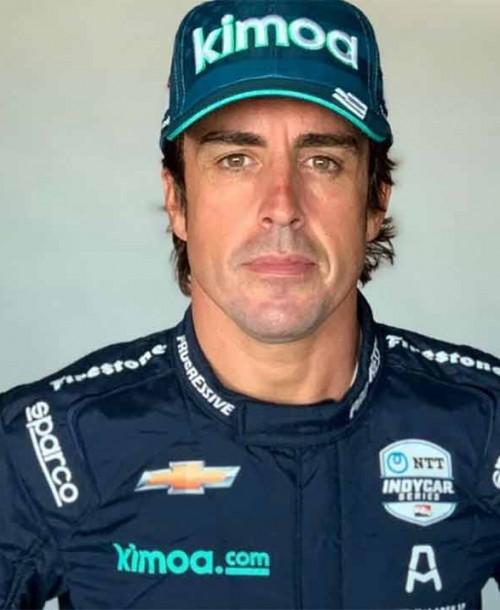 Fernando Alonso sufre un accidente mientras montaba en bici