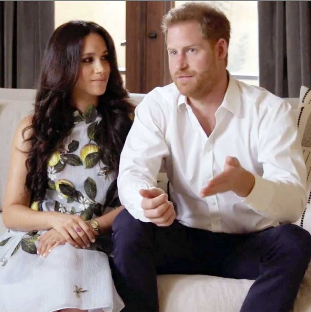 Duques de Sussex © Spotify/Youtube.