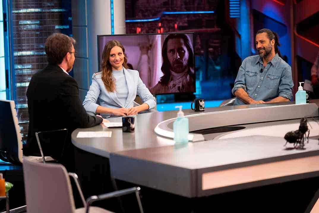 Michelle Jenner y Hugo Silva - El Hormiguero © Antena 3