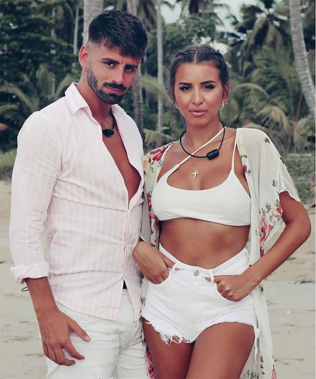 Marina e Isaac - La isla de las tentaciones 3 © Telecinco