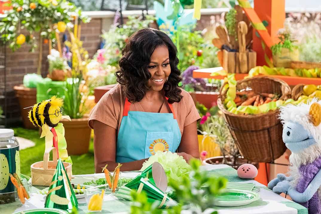 Michelle Obama - Gofre + Mochi © Netflix