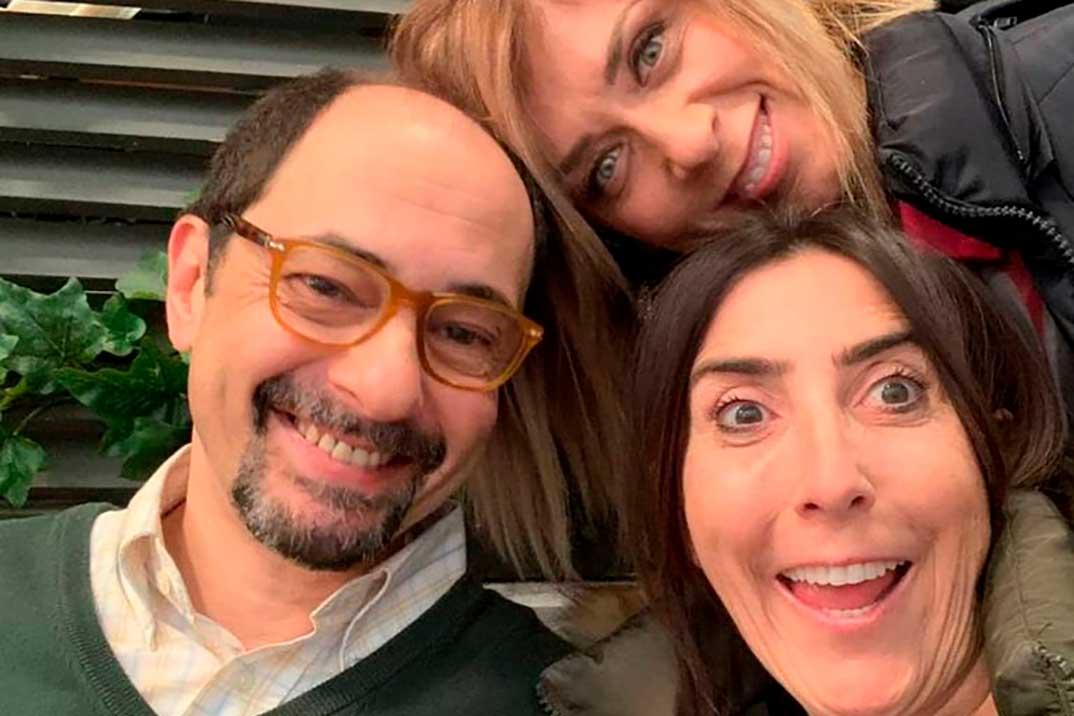 Jordi Sánchez, Paz Padilla y Eva Isanta © Redes Sociales