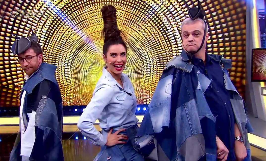 Pablo Motos, Pilar Rubio, Ramón García - El Hormiguero © Antena 3