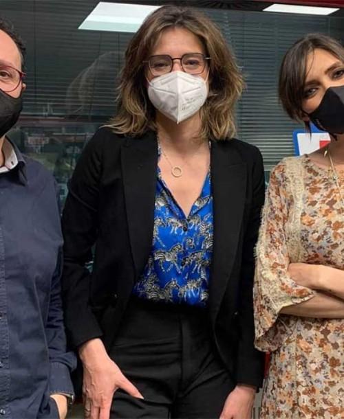 Sandra Barneda confiesa su última «tentación» a Sara Carbonero