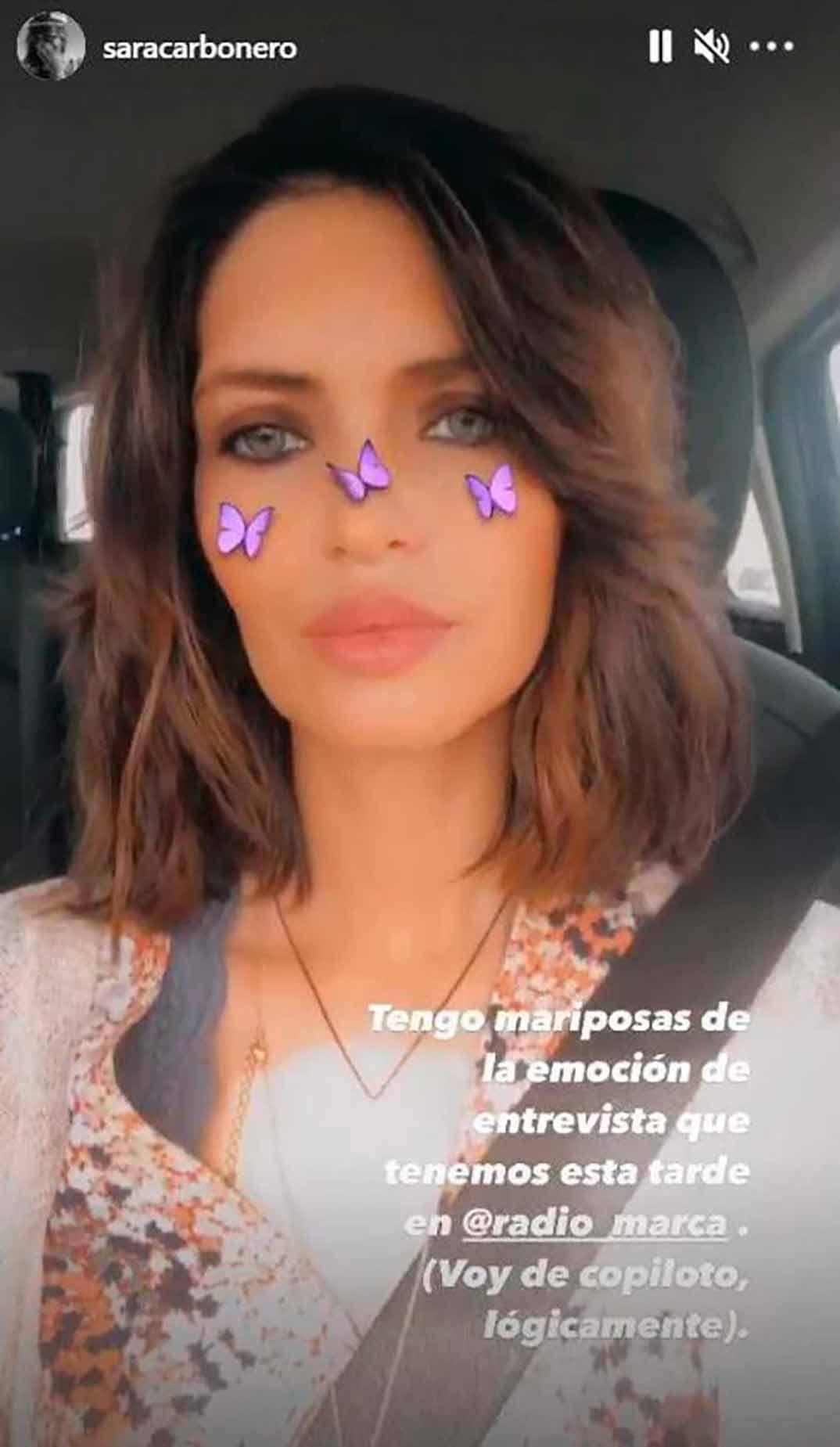 Sara Carbonero © Instagram