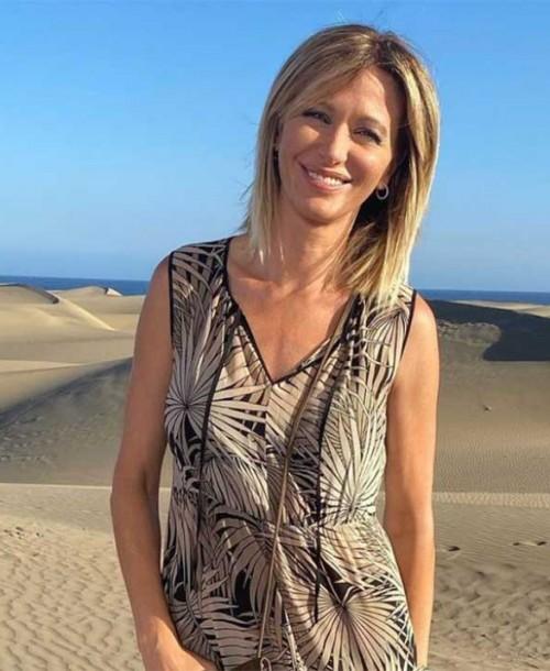 Susanna Griso se emociona al anunciar que ha encontrado a su perra