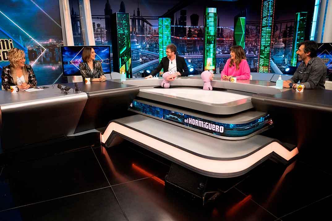 Cristina Pardo, Nuria Roca, Tamara Falcó y Juan del Val - El Hormiguero © Atresmedia